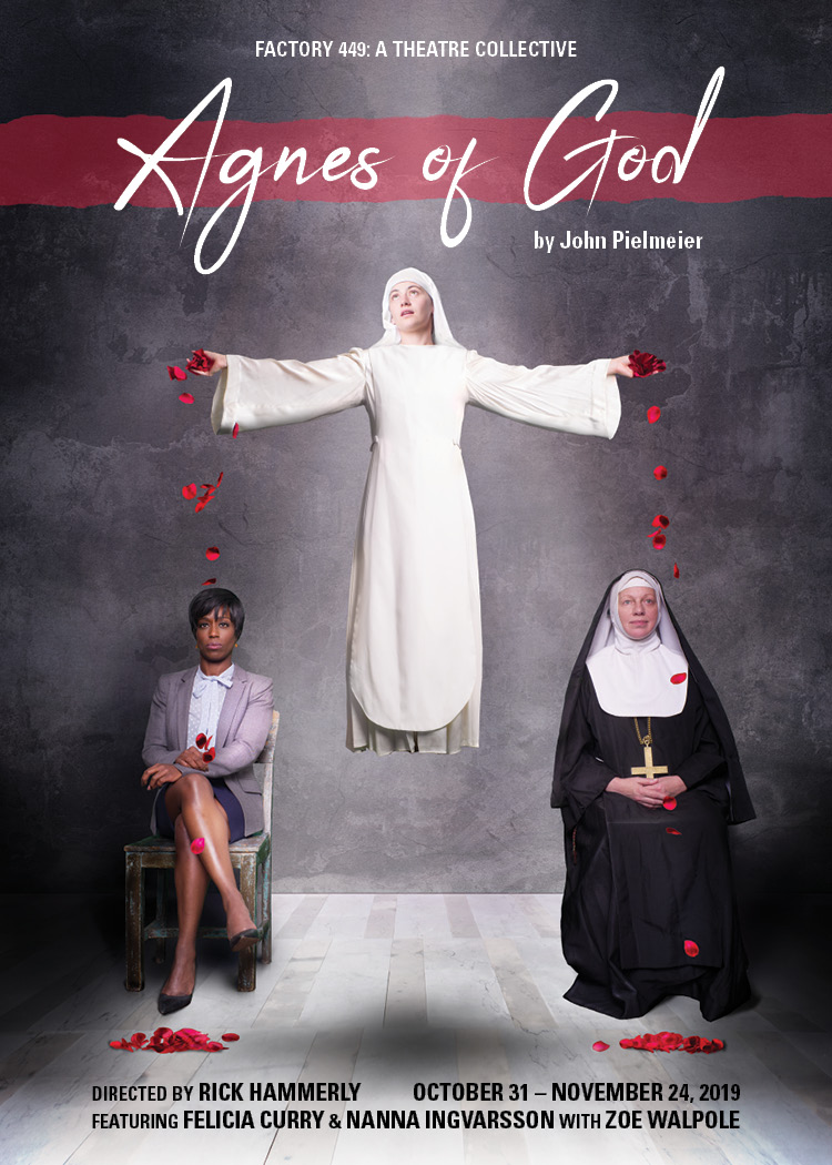 2019-10-20 Agnes of God - Postcard